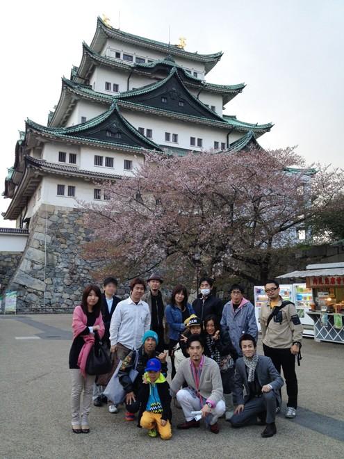 FXしゃべり場ツアー・名古屋城観光