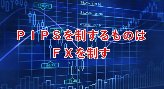 PIPSを制するものはFXを制す
